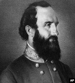 """被称为""""石墙""""的杰克逊将军"""