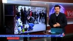 یاد قربانیان حملات پاریس در مقابل سفارت فرانسه در خیابان نوفل لوشاتو تهران