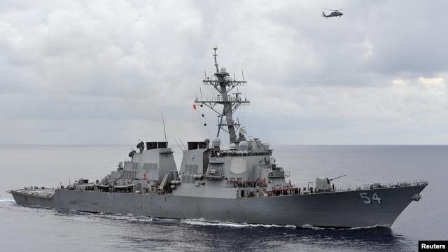 Ngày 30/1/2016, Mỹ đã cho tàu khu trục có tên lửa dẫn đường USS Wilbur Curtis áp sát đảo Tri Tôn thuộc quần đảo Hoàng Sa.
