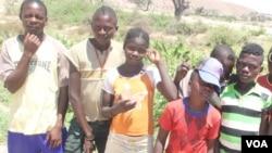 Crianças do Namibe