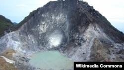 Gunung Sibayak di Sumatera Utara (foto: Ilustrasi).