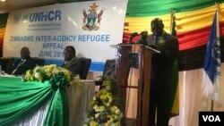 Emkhosini wokusungula uhlelo lokubuthanisa imali yokunceda iziphepheli, olwe-Inter Agency Refugee Appeal