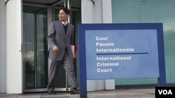 Kantor Mahkamah Kriminal Internasional di Den Haag, Belanda (foto: dok).