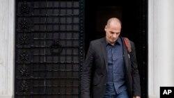 Yanis Varoufakis, ministre des Finances démissionnaire.