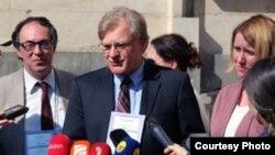 Посол США в Грузии Ричард Норленд. Тбилиси. 2 октября 2012 г. Photo: georgia.usembassy.gov