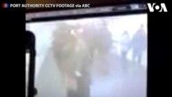 Ledakan Bom di Terminal Bus New York