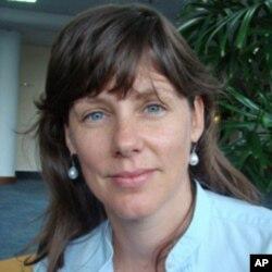 UNOCHA spokesperson Kirsten Mildren.