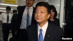 FILE - Liberal Democratic Party Japanese lawmaker Yoshitaka Shindo.