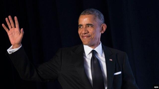 Tổng thống Mỹ Barack Obama tại Viện Nghiên Cứu Thuộc Quốc Hội Về Người Mỹ Gốc Á Châu Thái Bình Dương (APAICS) ở Washington, ngày 4/5/2016.