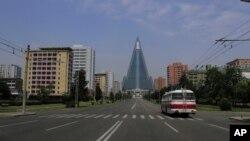 지난해 7월 평양 거리 (자료사진)