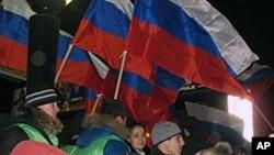 支持普京政府的集会