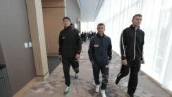 Тріо українських боксерів викликало ажіотаж у США напередодні поєдинків. Відео
