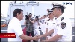 Philippines mở ngỏ khả năng tập trận chung với Trung Quốc