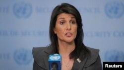 نمایندۀ امریکا در ملل متحد گفته است که بازی دوگانۀ پاکستان بیش از این قابل قبول نیست