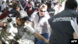 Новые столкновения в Тбилиси