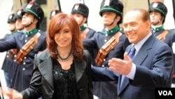 Cristina Fernández celebrará en Italia los festejos por los 150 años de la unificación del país.