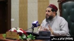 د افغانستان د مشرانو جرګې رئیس فضل هادي مسلمیار