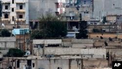 Кобани, Сирия,16 октября 2014.