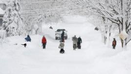 SHBA: Verilindja e bllokuar nga dëbora