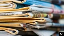 The Zimbabwe Mail on Wednesday printed its last copy amid reports that another weekly, the Southern Eye, will close shop at the end of the month due to biting costs.