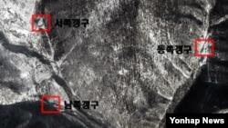 구글 어스가 지난해 11월 13일 촬영한 북한 함경북도 길주군 풍계리 핵실험장 일대 모습. (자료사진)