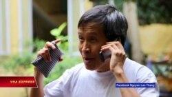 An ninh ngăn cản người chào đón Anh Ba Sàm mãn hạn tù