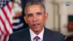 Shugaban kasa Obama ya isar da sako ga kasashen Afrika ta yamma a game da barkewar cutar Ebola (English)