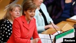 Nicola Sturgeon, primeira-ministra escocesa