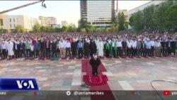 Festimet e Kurban Bajramit në Sheshin Skënderbej në Tiranë
