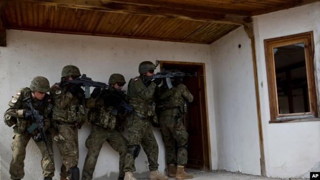 Vojna vježba pripadnika KFOR-a