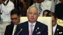馬來西亞總理納吉布(資料圖片)