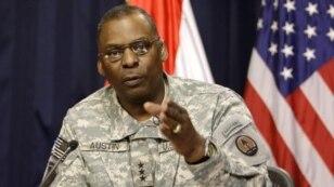 جنرال لوید آسیتن، فرمانده نیرو های ایالات متحده در شرق میانه
