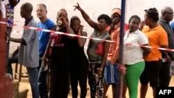 En images: les Libériens se choisissent un nouveau président