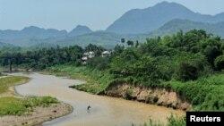 Khúc sông Mekong ở Lào