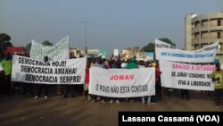 Manifestação contra o Presidente, Guiné-Bissau