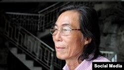 Nhà hoạt động Trần Đức Thạch. Photo Facebook Huynh Thuc Vy