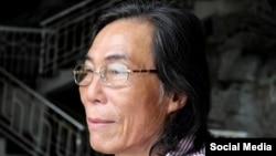 Nhà hoạt động, nhà văn, nhà thơ Trần Đức Thạch. Photo Facebook Huynh Thuc Vy