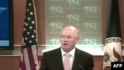 美国国务院发言人克劳利(资料照片)