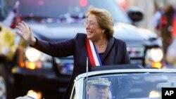 智利總統巴切萊特面臨巨大的經濟挑戰