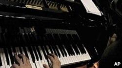 Pianiste à l'oeuvre.