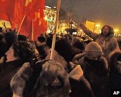3月5日莫斯科普西金廣場反普京集會