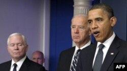 Роберт Гейтс, Джо Байден и Барак Обама