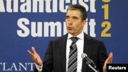 Sekjen NATO Fogh Rasmussen (Foto: dok).