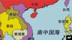 南中國海區域圖