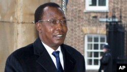 FILE - Chad President Idriss Deby