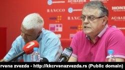 Nebojša Čović, predsednik Košarkaškog kluba Crvena zvezda (Foto: KK Crvena zvezda)