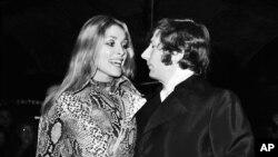 رومن پولانسکی و همسرش شارون تیت - سال ۱۹۶۹