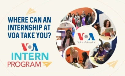 VOA Internship Opportunities VOA - Voice of America English News