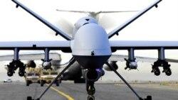 در حمله هواپیمای بدون سرنشین آمریکا چهار ستیزه گر مظنون کشته شدند