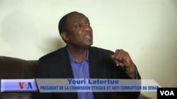 YOURI LATORTUE --Senatè Repiblik D Ayiti pou Depatman Latibonit- Prezidan Etik ak Anti-koripsyon Sena Ayisyen an